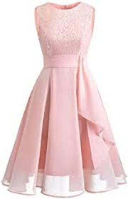 Di che colore sarà il vostro abito per la promessa di matrimonio? 2