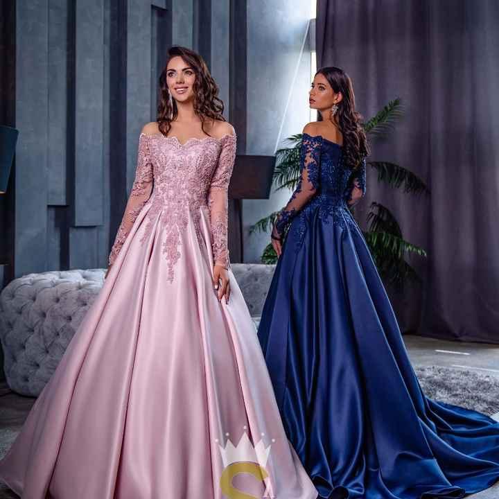 Per il secondo abito, preferite un colore delicato oppure un colore più acceso? - 1