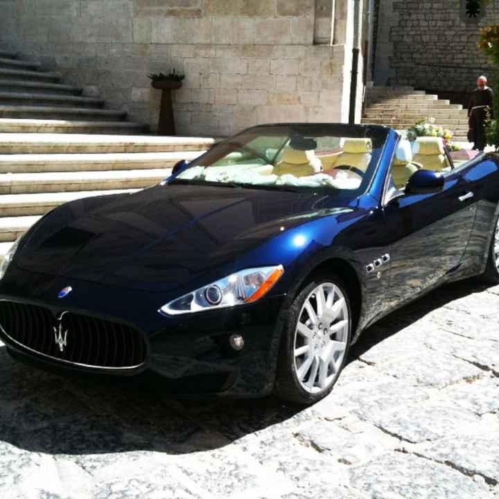 Che tipo di macchina avete scelto per il vostro matrimonio? - 2