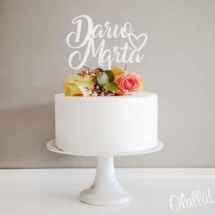 Topper Cake:tra questi quali preferite? - 3
