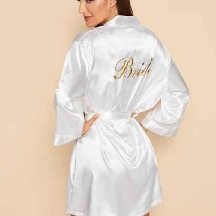 Vestaglia Sposa, quale preferite? - 3