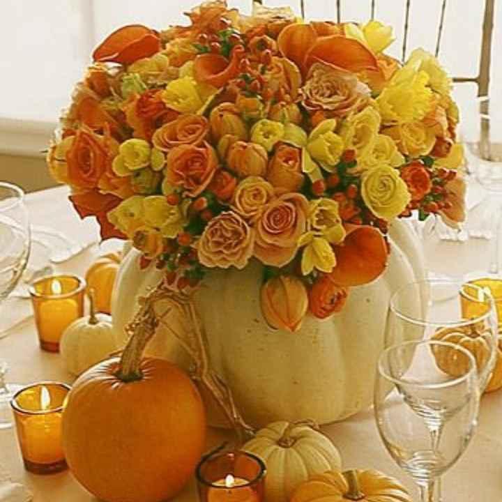 Allestimento matrimonio ottobre - 2