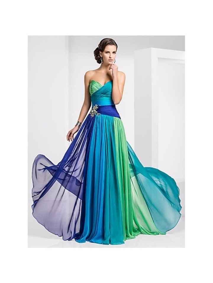 Di che colore sarà il vostro abito per la promessa di matrimonio? - 3