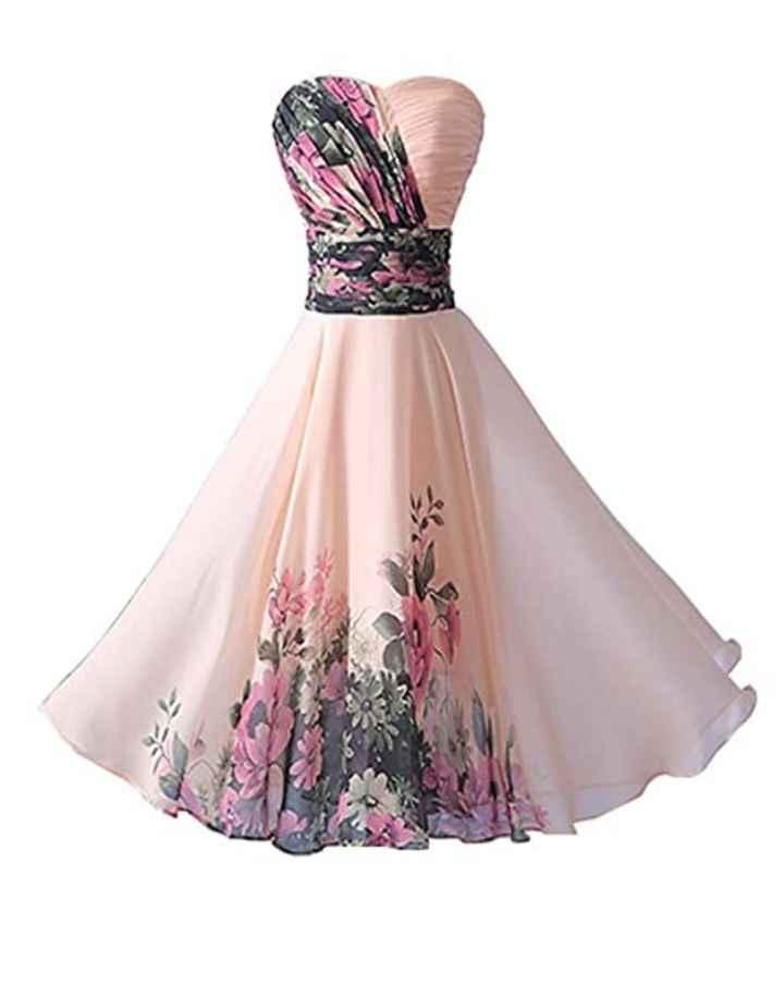 Di che colore sarà il vostro abito per la promessa di matrimonio? - 5