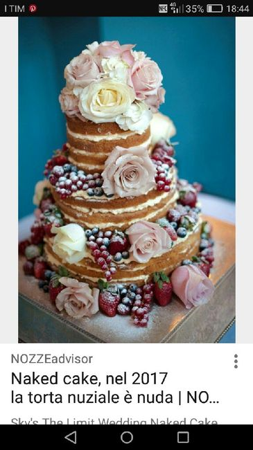 Come sarà la vostra wedding cake? - 1