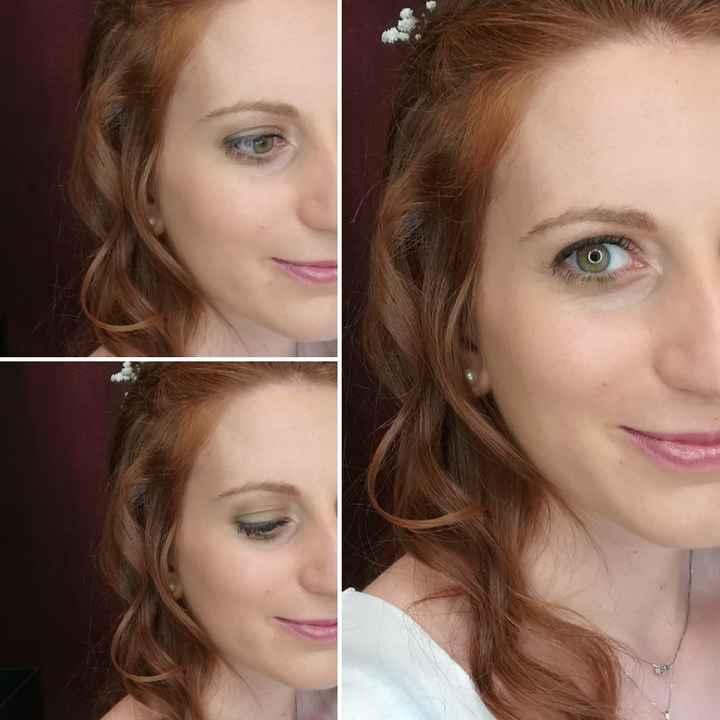 Trucco sposa occhi verdi - 1