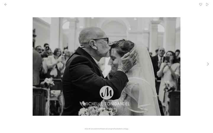 L'ultimo bacio dal papà