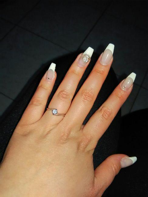 Mi fate vedere il vostro anello della proposta?? 11
