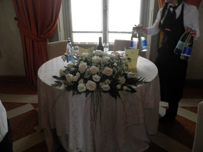 tavolo Nunziale