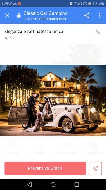 Con quale auto arriverete al vostro matrimonio ? - 1