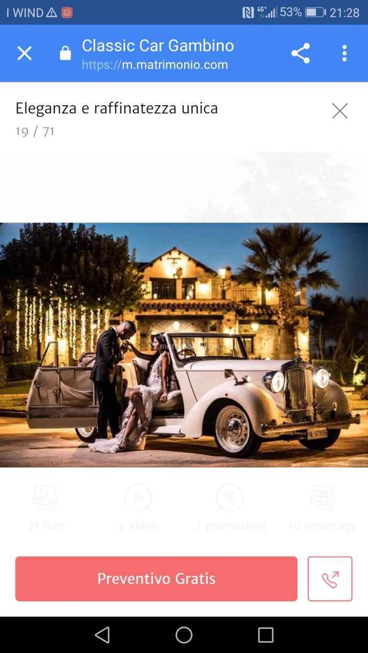 Con quale auto arriverete al vostro matrimonio ? 1