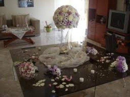 Addobbo casa mamma sposa organizzazione matrimonio - Tavolo sposa a casa ...