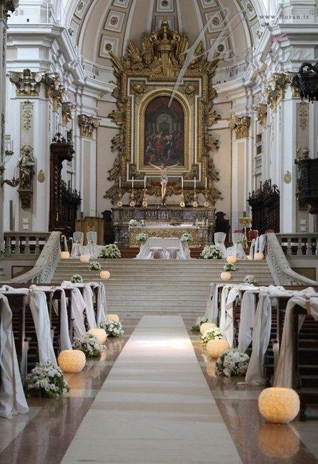 Addobbo Con Girasoli Matrimonio : Addobbo fiori in chiesa organizzazione matrimonio