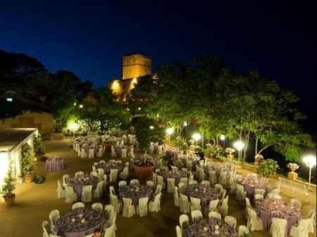 terrazza sul mare - castello di Solanto