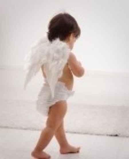 Paggetti vestiti da angeli.  - 2