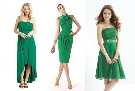 Abito verde smeraldo 6cb85bda0884