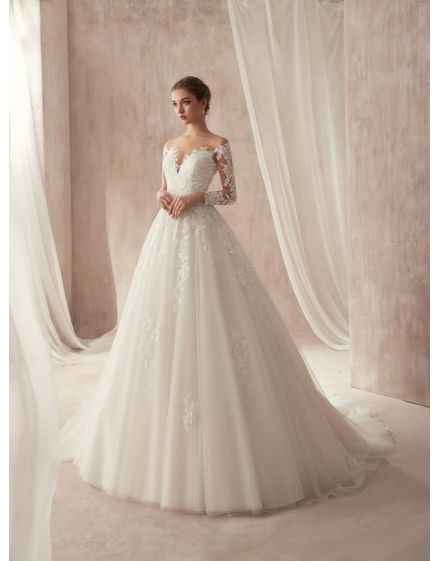 Vestito da sposa: con o senza maniche? - 1