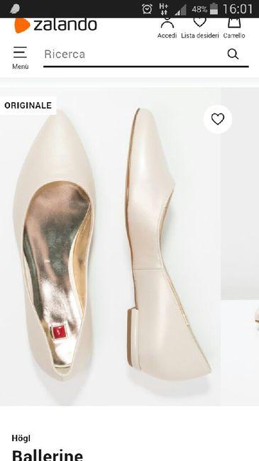 Chi si è sposata con scarpe/sandali bassi?? 6