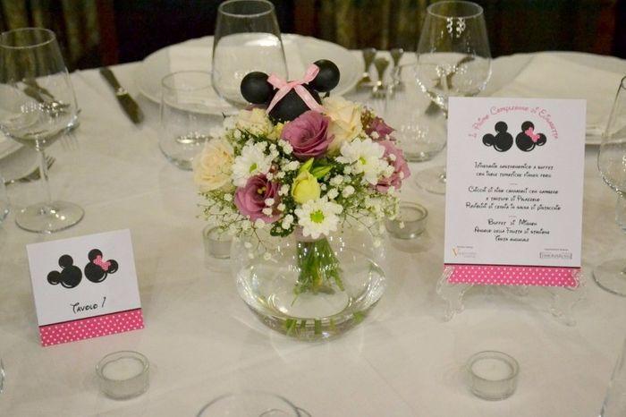 Partecipazioni Matrimonio Tema Disney : Matrimonio a tema disney minnie topolino
