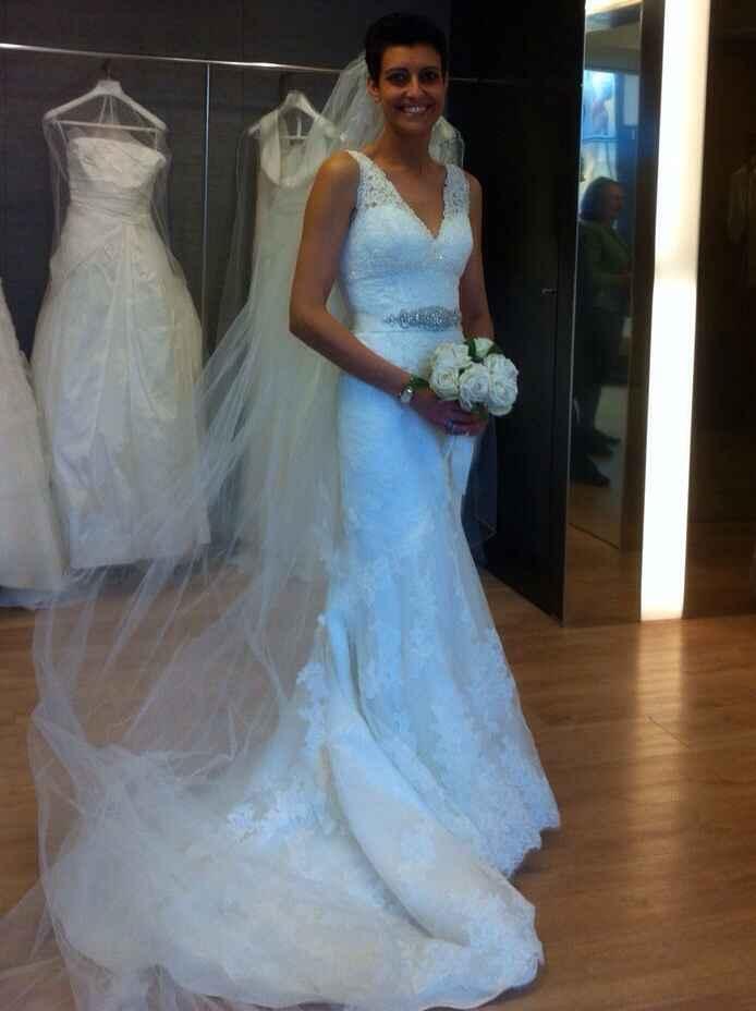 Prima prova abito:mi sento una sposa! - 1
