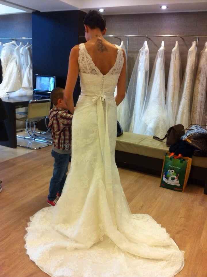 Prima prova abito:mi sento una sposa! - 2