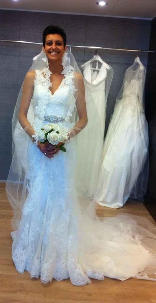 Prima prova abito:mi sento una sposa! - 4
