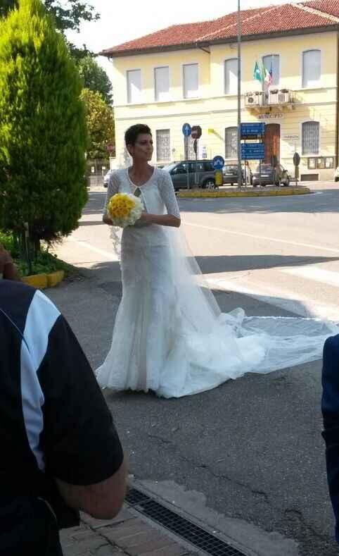 Condividiamo la foto del nostro abito il giorno delle nozze ? - 1