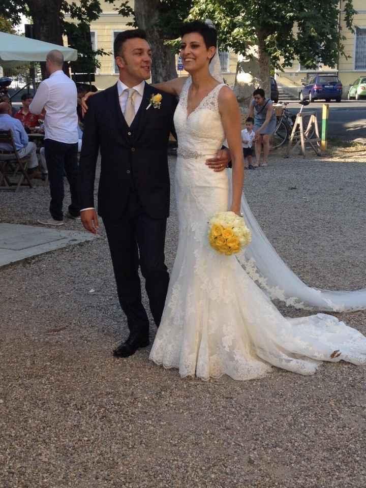 Condividiamo la foto del nostro abito il giorno delle nozze ? - 2