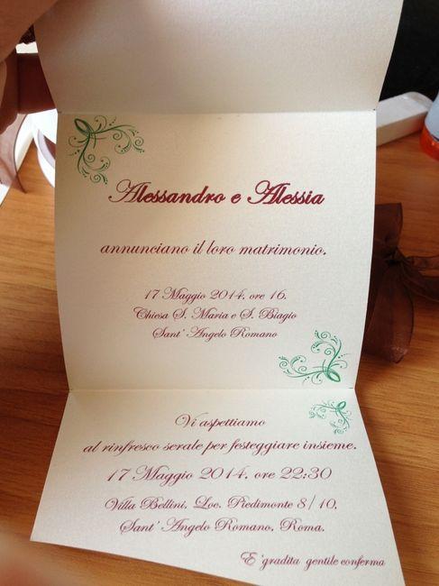 Partecipazioni Matrimonio Informali.Partecipazioni Piu Informali Fai Da Te Forum Matrimonio Com