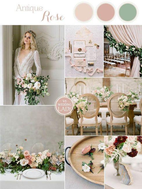 Palette colori matrimonio spiegata alla fiera degli sposi! 2