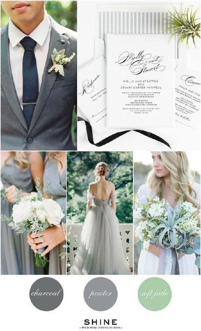 Palette colori matrimonio spiegata alla fiera degli sposi! 3