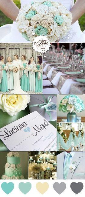 Palette colori matrimonio spiegata alla fiera degli sposi! 6