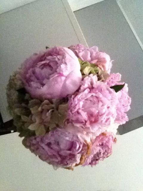 Bouquet peonie e ortensie - Foto Organizzazione matrimonio