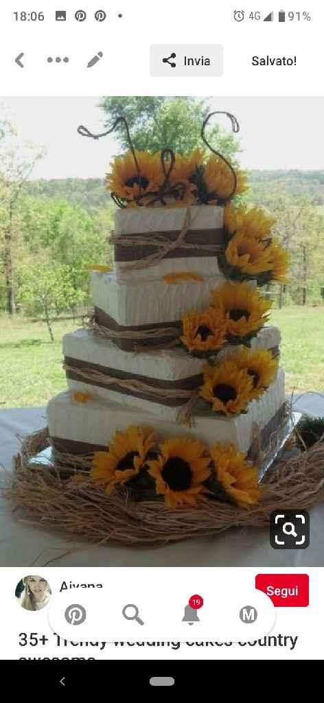 Torta 😊🎂🌻 - 1