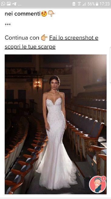 Fai lo screenshot e scopri il tuo abito da sposa 14