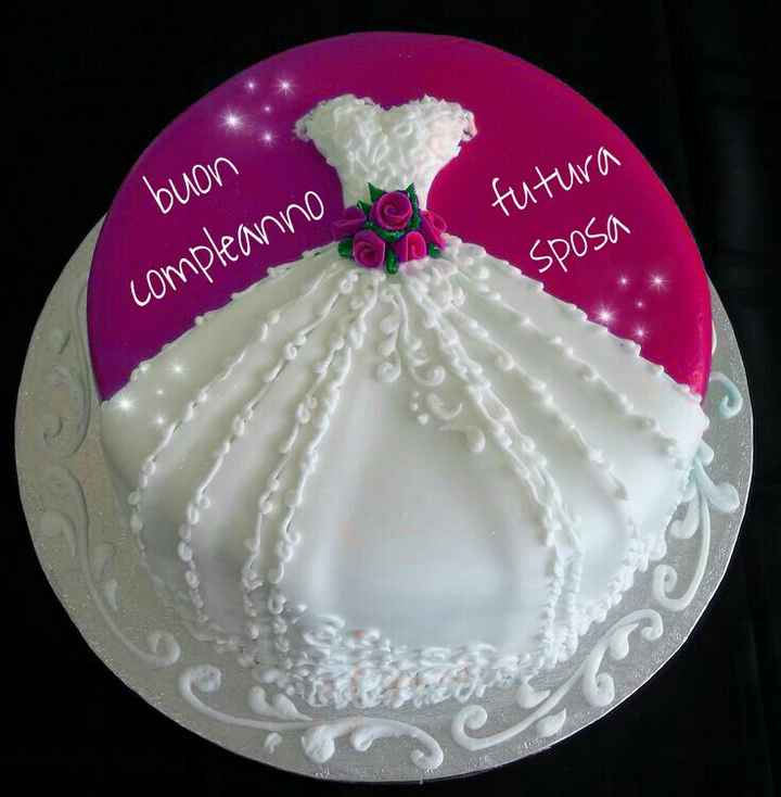 Torta x compleanno - 1