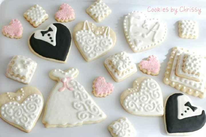 Biscotti matrimonio - tempo conservazione? - 1