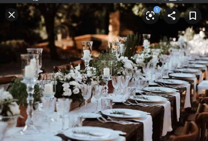 I tavoli del tuo ricevimento: rotondi o rettangolari? - 2