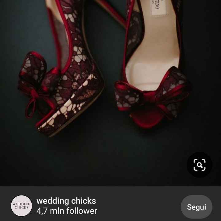 Scarpe da sposa: bianche, colorate o... - 1