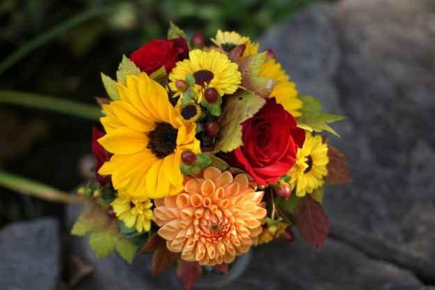 Bouquet autunnale variopinto