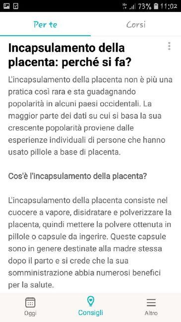 Incapsulamento della placenta... 5