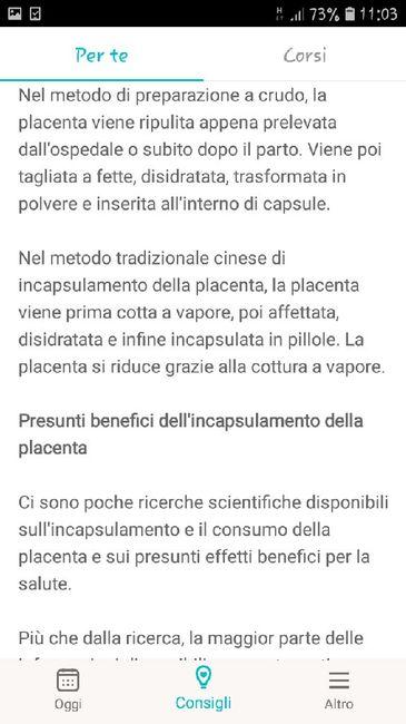Incapsulamento della placenta... 2