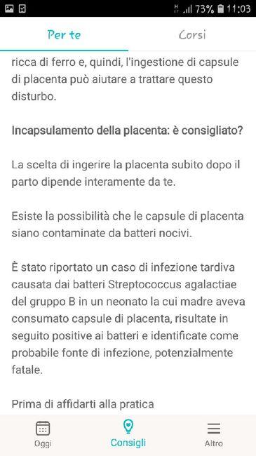 Incapsulamento della placenta... 3
