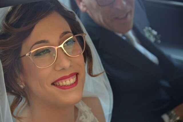 Sposa con occhiali(lungo) - 1