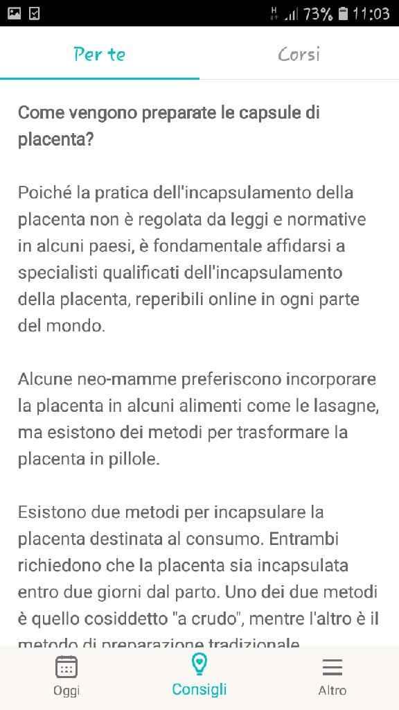 Incapsulamento della placenta... - 2