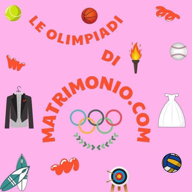 Le Olimpiadi di Matrimonio.com: assegna le medaglie! 🥇🥈🥉 1