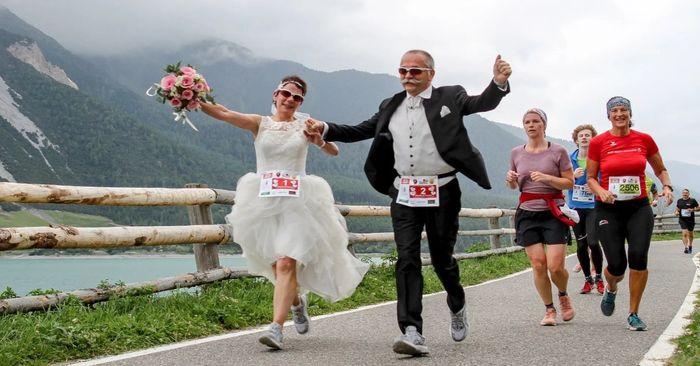 Sposarsi durante una maratona🏃♂️🏃♀️💍 1