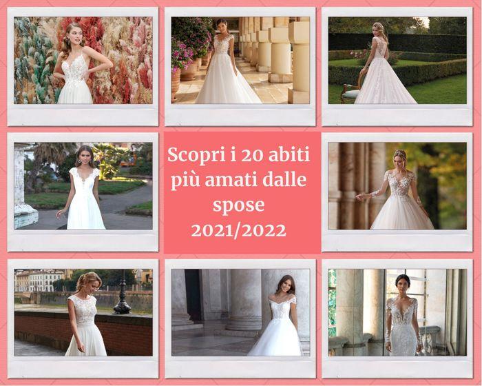 I 20 migliori abiti da sposa 2021/2022: vota i tuoi preferiti! 1