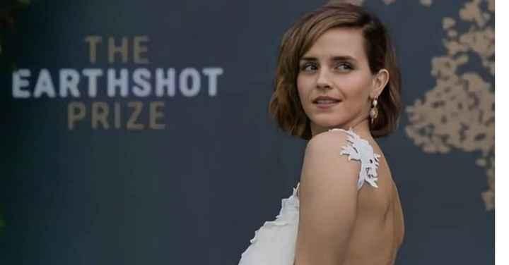Emma Watson sceglie un abito da sposa riciclato per la cerimonia del premio Earthshot 🌎 - 3