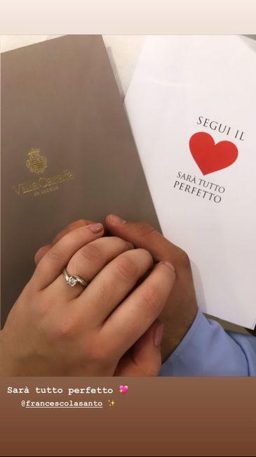 Hai ricevuto l'anello che ti aspettavi? - 1